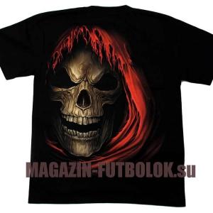 3d футболка skull knight hd