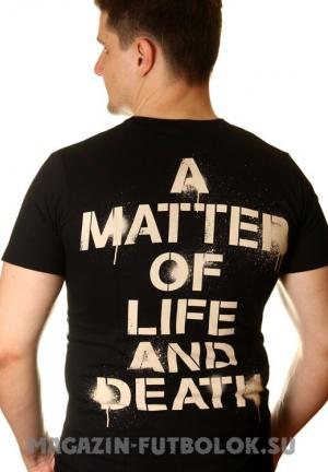 футболка iron maiden matter life death