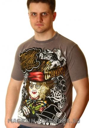 футболка шляпник