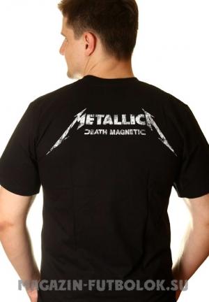 футболка metallica death magnetic