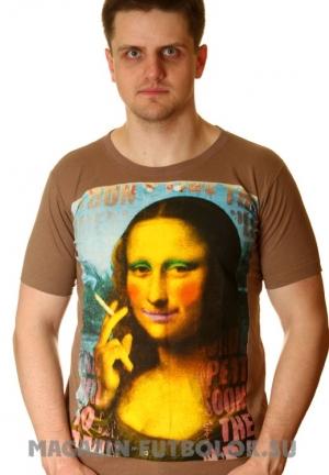 футболка с джокондой