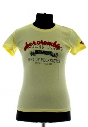 футболка abercrombie-fitch