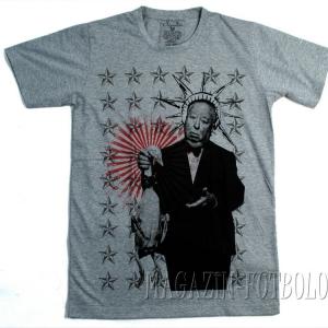 футболка с портретом альфред хичкок