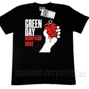 american idiot футболка green day