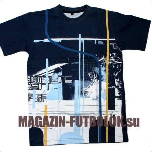 детская футболка blue abstract