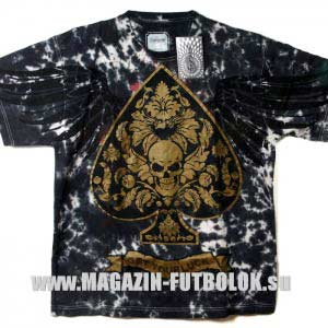 байкерская футболка get your luck - bronze