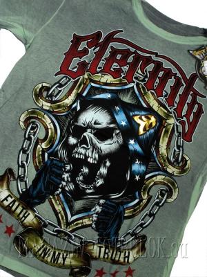 боксерская футболка skull boxing