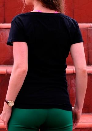 Cafe Biker — женская футболка