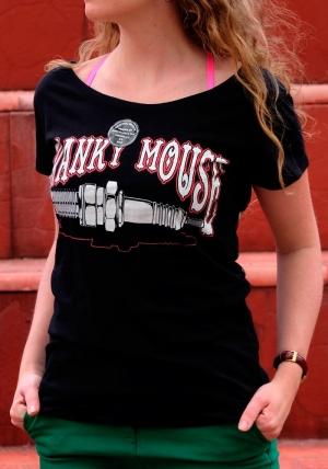 Сustom Hotroad Tattoo — женская футболка