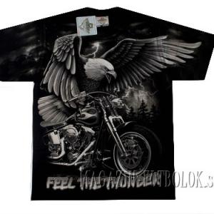 feel the thunder футболка для байкеров