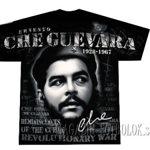 full print футболка che guevara