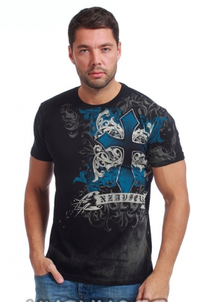 футболка xzavier l1593blk