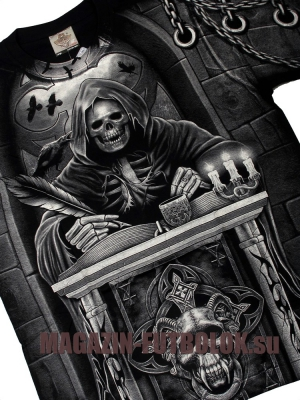 футболки мужские с рисунками скелет