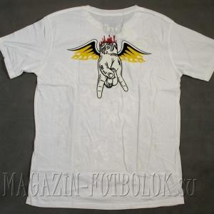 футболка 4 skull metall group
