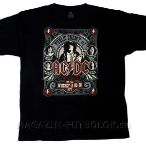 футболка ac-dc public enemy №1
