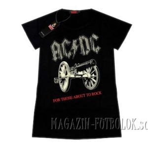 футболка ac-dc женская those about to rock