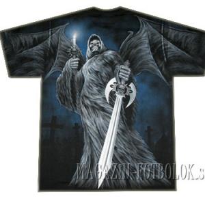 футболка ангел смерти с мечом