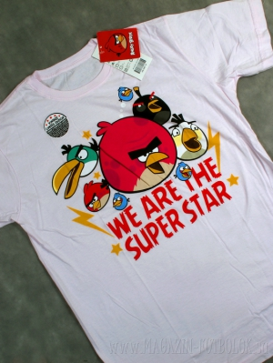 футболка angry birds we are superstar