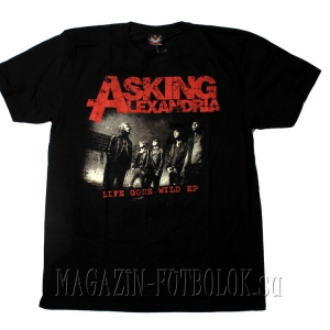 футболка asking alexandria