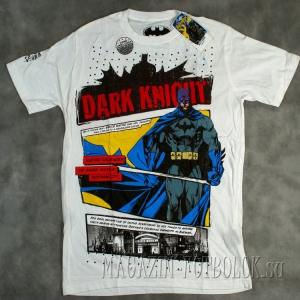 футболка batman dark knight