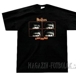 футболка beatles - hard days night