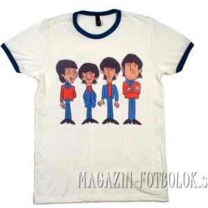 футболка beatles комикс