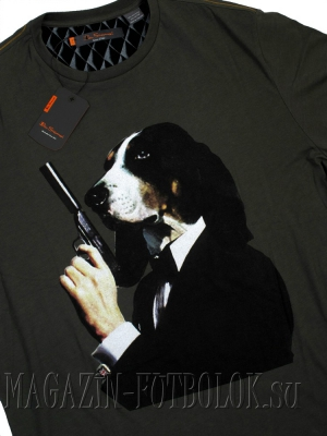 футболка ben sherman dog and gun