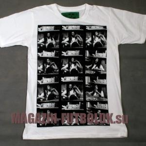 футболка bob marley - filmstrip