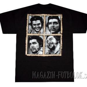 футболка с изображением che