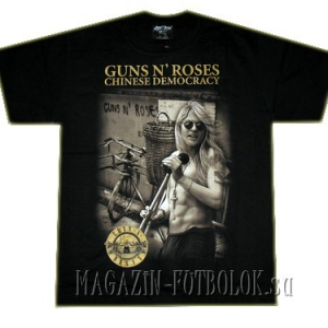 футболка  guns n` roses chinese democracy