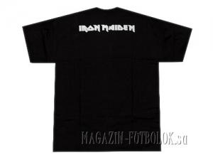 футболка с рок символикой iron maiden