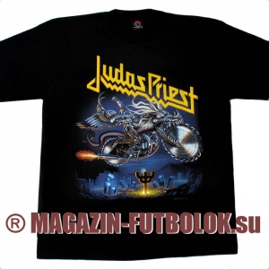 футболка judas priest painkiller
