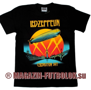 футболка led zeppelin celebration day