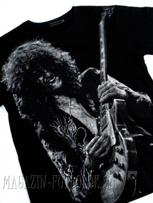 футболка led zeppelin jimmy page black