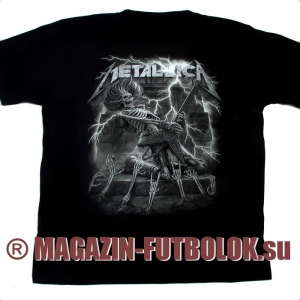футболка metallica tour