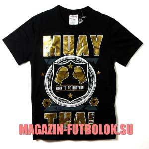 футболка muay thai gold