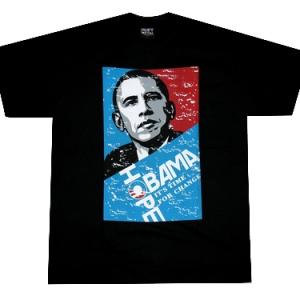 футболка obama hope