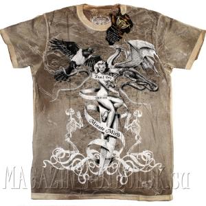 футболка с голой девушкой naked girl