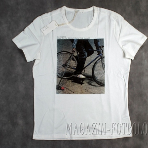 футболка с велосипедом