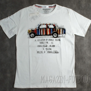футболка с винтажным авто