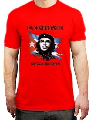 футболка сhe el comandate
