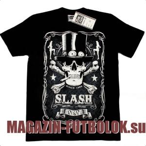 футболка slash skull
