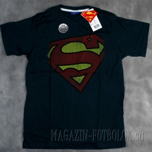 футболка со знаком супермена superman logo
