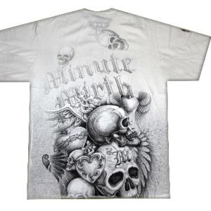 футболка с доставкой три  черепа