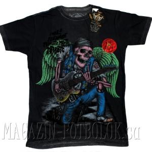 футболка зомби - zombie guitarist