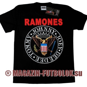 футболки ramones с логотипом