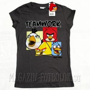 женская футболка angry birds girls teamwork