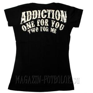 женская футболка born to win
