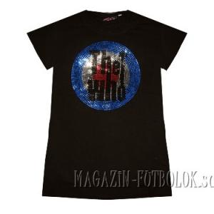 женская футболка the who
