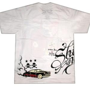 готическая футболка devil